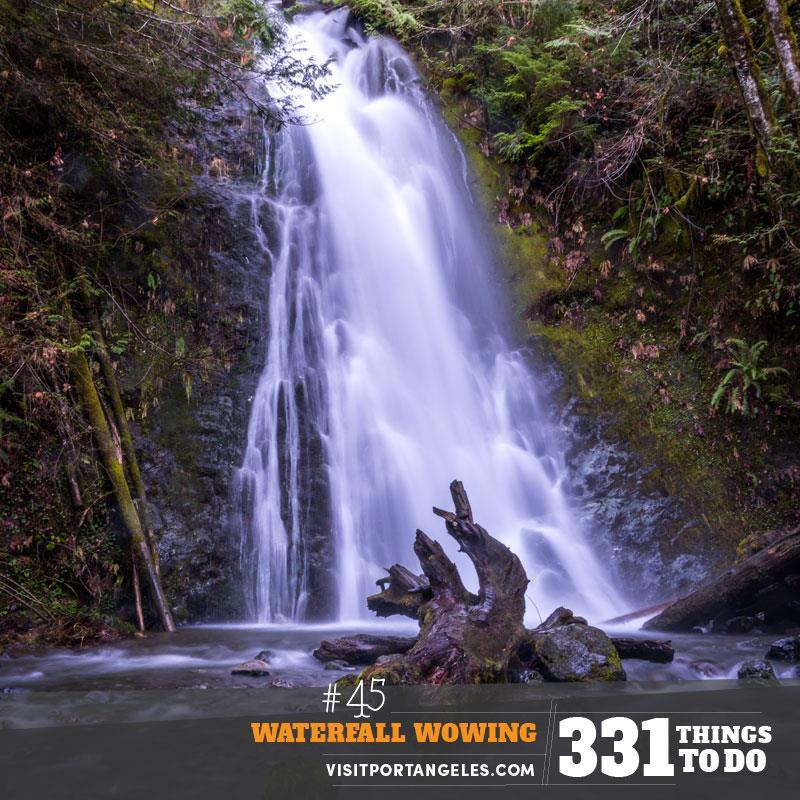 Madison Creek Falls - Port Angeles WA