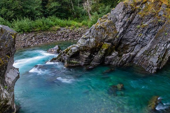 Goblin's Gate in the Olympic National Park
