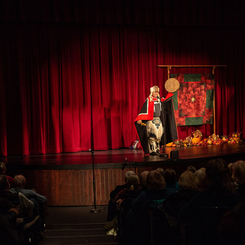 The annual Forest Storytelling Festival on the Olympic Peninsula in Port Angeles