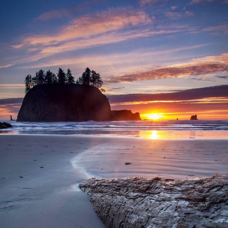 Second Beach - Visit Port Angeles Washington