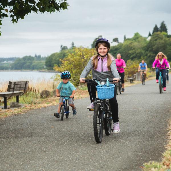 Bike Everywhere Month in Port Angeles Washington