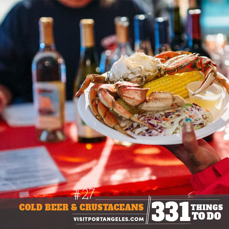 331 Things to Do in Port Angeles - #27 Cold Beer & Crustaceans