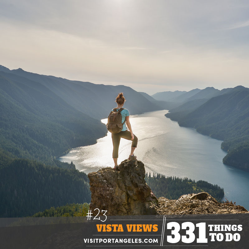 331 Things to Do in Port Angeles, WA - #23 Vista Views of Lake Crescent
